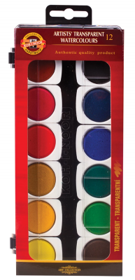 цены на Краски акварельные Koh-i-Noor художественные 12 цветов  в интернет-магазинах