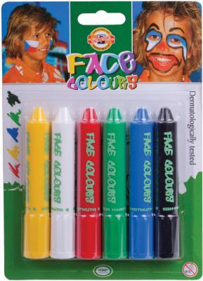 цены на Аквагрим Koh-i-Noor 4610006001BL 6 цветов  в интернет-магазинах