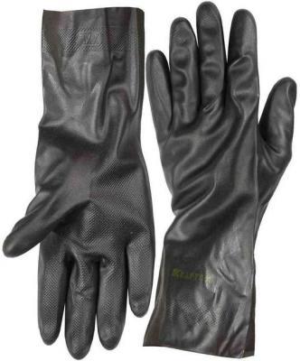Перчатки KRAFTOOL противокислотные, неопреновые, повышенной прочности, с х/б напылением, размер XL перчатки hammer flex 230 021 кожаные спилковые повышенной прочности