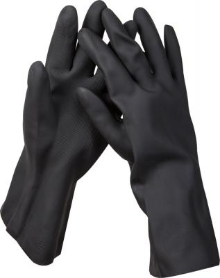 Перчатки KRAFTOOL противокислотные, неопреновые, повышенной прочности, с х/б напылением, размер XXL перчатки hammer flex 230 021 кожаные спилковые повышенной прочности
