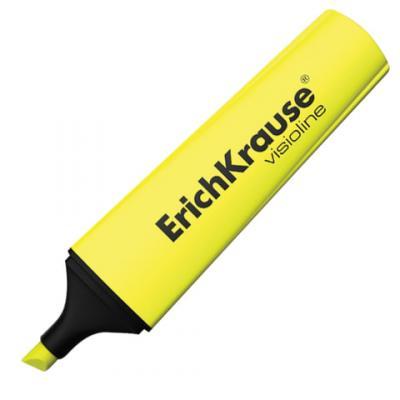 """Текстмаркер Erich Krause """"Visioline V-12"""" 0,6-5,2 мм желтый цены"""