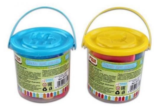 Тесто для лепки Color Puppy Color Puppy 12 цветов цена
