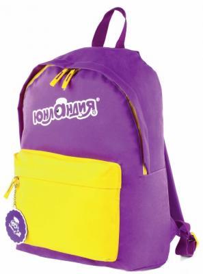 Купить Рюкзак ручка для переноски ЮНЛАНДИЯ Рюкзак 16 л фиолетовый, ткань, полиэстер, Ранцы, рюкзаки и сумки