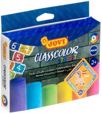 Мелки Jovi Мел цветной 6 цветов 6 штук