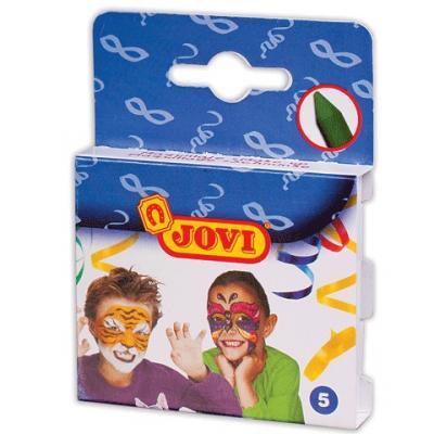 Краски для лица Jovi Грим 5 цветов краски jovi краски для рисования руками jovi 5 цв 35 мл