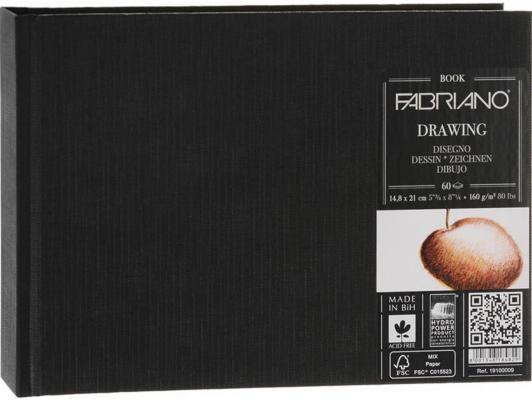 Блокнот для зарисовок FABRIANO 19100009 A5 60 листов
