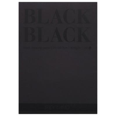 Фото - Альбом для зарисовок FABRIANO BlackBlack A4 20 листов fabriano альбом для пастели ingres 60 листов формат a4 65212972