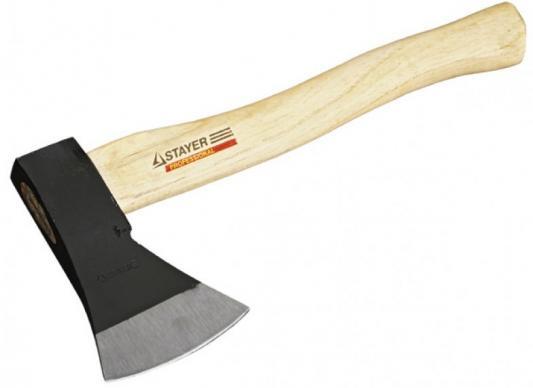 "Топор STAYER ""MASTER"" кованый с деревянной рукояткой, 1,0кг топор stayer кованый стеклопластиковая рукоятка 1 2 кг 20605 12"