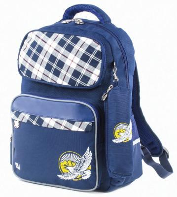 Рюкзак светоотражающие материалы BRAUBERG 18 л синий цена и фото