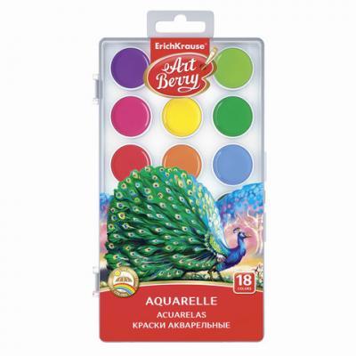 Краски акварельные Erich Krause Artberry 18 цветов printio акварельные краски
