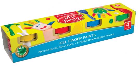цена на Пальчиковые краски Erich Krause Artberry 4 цвета