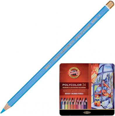 Набор цветных карандашей Koh-i-Noor Polycolor 24 шт