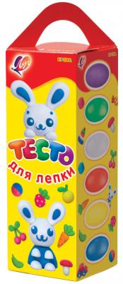 Купить Тесто для лепки ЛУЧ Пластилин 6 цветов