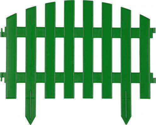 """Забор декоративный GRINDA """"АР ДЕКО"""", 28x300см, зеленый"""