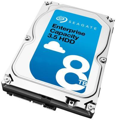 Жесткий диск Seagate Original SAS 8Tb ST8000NM0065 Exos (7200rpm) 256Mb 3.5 цена
