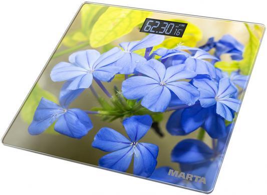 Весы напольные Marta MT-1676 гортензия рисунок электронные напольные весы marta mt 1663 титан
