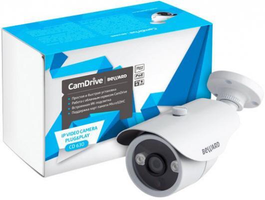 Камера IP Beward CD630 КМОП 1/4 2.8 мм 1280 x 720 H.264MP RJ-45 PoE белый цена
