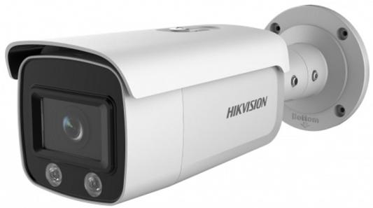 Камера IP Hikvision DS-2CD2T27G1-L CMOS 1/2.8 6 мм 1920 x 1080 Н.265 H.264 MJPEG RJ45 10M/100M Ethernet PoE белый