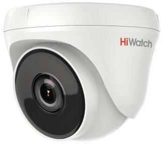 Камера видеонаблюдения Hikvision HiWatch DS-T233 3.6-3.6мм цветная корп.:белый