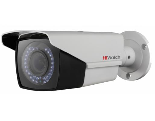 Камера видеонаблюдения Hikvision HiWatch DS-T206P 2.8-12мм цветная корп.:белый