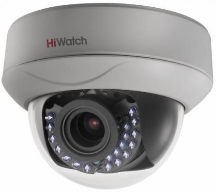 Камера видеонаблюдения Hikvision HiWatch DS-T207P 2.8-12мм цветная корп.:белый камера видеонаблюдения hikvision ds 2ce16h5t ite 3 6 3 6мм цветная корп белый
