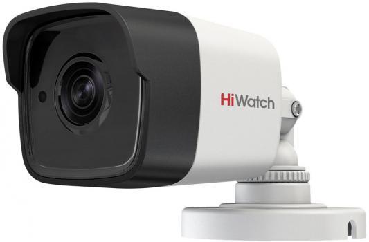 Камера видеонаблюдения Hikvision HiWatch DS-T500P 6-6мм HD TVI цветная корп.:белый видеокамера ip hikvision ds 2cd2322wd i 6 6мм цветная корп белый