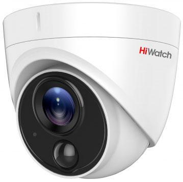 Фото - Камера видеонаблюдения Hikvision HiWatch DS-T213 2.8-2.8мм цветная корп.:белый монитор видеонаблюдения hikvision ds d5032fc