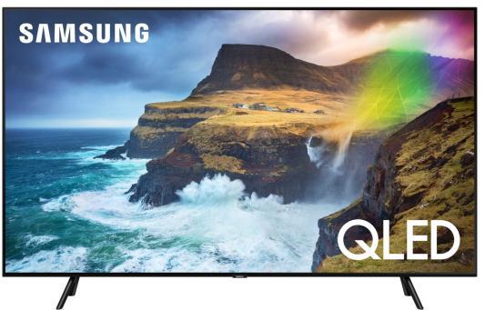 "цена на Телевизор QLED Samsung 55"" QE55Q70RAUXRU черный/Ultra HD/1000Hz/DVB-T2/DVB-C/DVB-S2/USB/WiFi/Smart TV (RUS)"