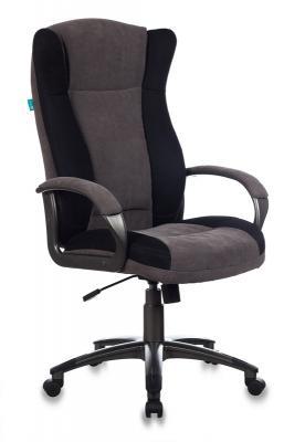 Кресло руководителя Бюрократ CH-879N/DG/F-C кофейный цена