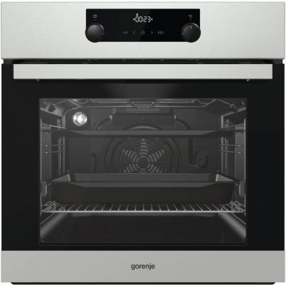 Духовой шкаф Электрический Gorenje BO735E20X-2 серебристый духовой шкаф электрический gorenje bo635e20b 2 черный