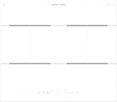лучшая цена Индукционная варочная поверхность Gorenje IT646ORAW белый