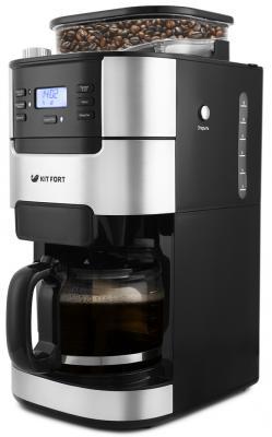 Кофемашина KITFORT КТ-720 черный кофемашина kitfort кт 705