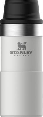 Термокружка Stanley The Trigger-Action Travel Mug (10-06440-016) 0.35л. белый stanley the trigger action travel mug черный