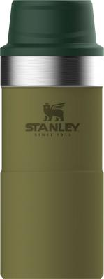 Термокружка Stanley The Trigger-Action Travel Mug (10-06440-018) 0,35л оливковый