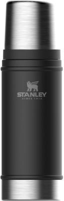 Термос Stanley The Legendary Classic Bottle 0,47л чёрный 10-01228-073 термос stanley the legendary classic food jar 0 94л черный