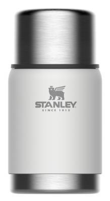 Термос Stanley Adventure Vacuum Food Jar (10-01571-022) 0.7л. белый термос stanley the legendary classic food jar 0 94л черный