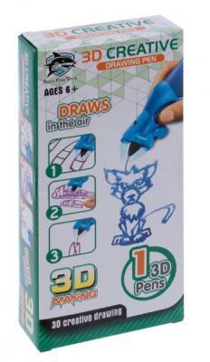 Купить 3D-ручка детская, цвет синий (8801-1B: FITFUN TOYS), 3D Ручки
