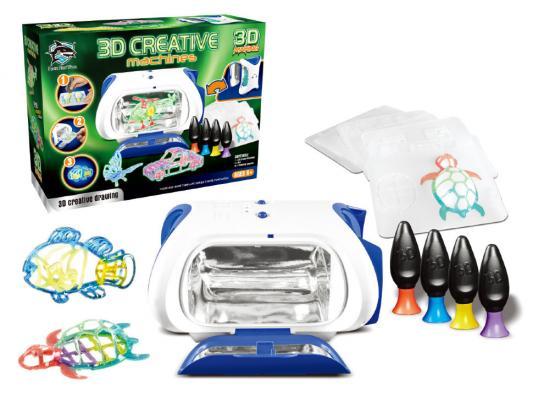 Принтер детский с набором картриджей со светящимся жидким полимером (Y6601: FITFUN TOYS)
