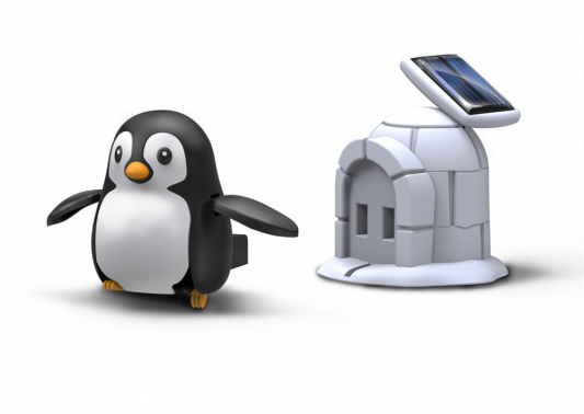 Купить Конструктор OCIE Пингвин на солнечной энергии, Динамические конструкторы