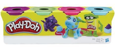 Набор PLAY-DOH Пластилин 4 цвета play doh play doh малыши динозаврики