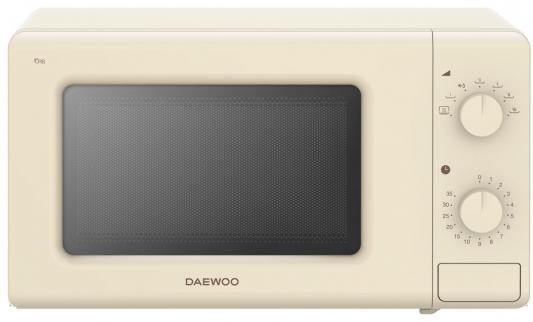 СВЧ DAEWOO KOR-7717C 700 Вт бежевый цена и фото