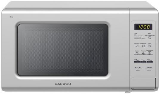 СВЧ DAEWOO KOR-771BS 700 Вт серебристый печь свч daewoo kor 5a07w соло 15л мех бел