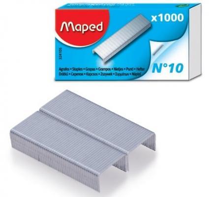 Фото - Скобы для степлера Maped №10 1000 шт скобы для степлера staff 10 1000 шт