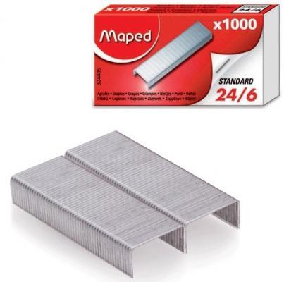Скобы для степлера Maped № 24/6 1000 шт