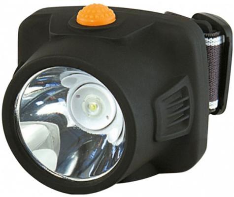 Фонарь налобный Яркий Луч LH-100A Компакт черный/желтый 3Вт лам.:светодиод. (4606400616214)