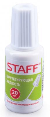 Корректирующая жидкость STAFF Корректирующая жидкость 20 мл