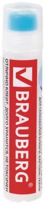 Клей канцелярский BRAUBERG, 50 мл, с силиконовым аппликатором