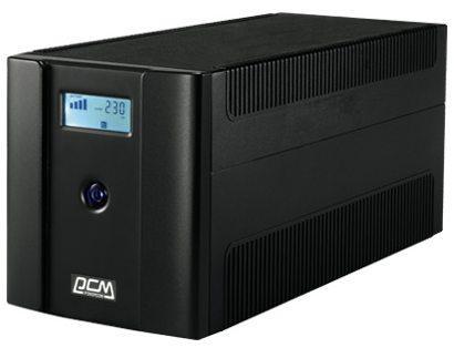 Источник бесперебойного питания Powercom Raptor RPT-2000AP LCD 1200Вт 2000ВА черный источник бесперебойного питания powercom raptor rpt 600ap 360вт 600ва черный