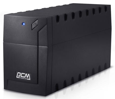 Источник бесперебойного питания Powercom RAPTOR 600VA Черный (RPT-600AP EURO)