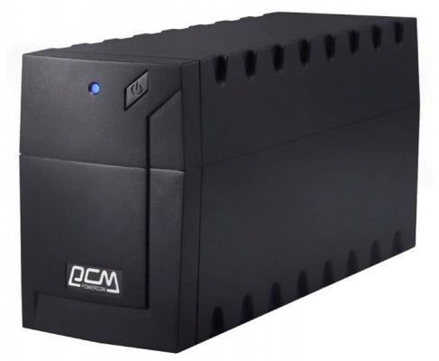 Источник бесперебойного питания Powercom RPT-800AP EURO 480Вт источник бесперебойного питания powercom raptor rpt 1025ap 1025вa